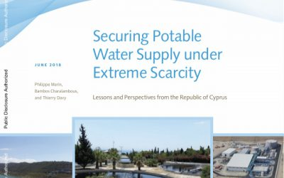 Securing Potable  Water Supply under  Extreme Scarcity